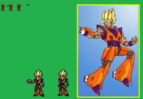 Request: Mecha Goku by zacharyleebrown