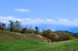 Mountains of Japan by gaelic