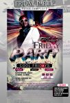 PSD Friday Party Flyer Template by retinathemes