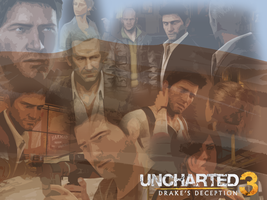 Uncharted 3 - Cutouts by Anubins