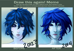 Before And After: Blue by NiveusUmbra