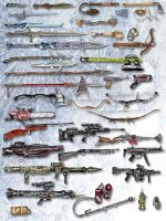 Weapons by sethu13