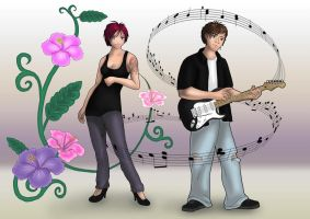 Paul and Rhiannon - Gift for a friend by xxx-karina-xxx