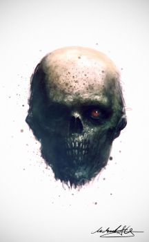 30 Minute Zombiehead by MitchGrave