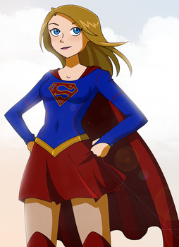 TV's Supergirl by Glee-chan