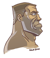 Soldier Profile by Reanimated-K