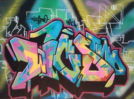 Color Style 1 Canvas by wics2