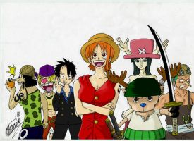 One.Piece.grupo by oNichaN-xD