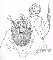 Belle is the Demon Barber by musable