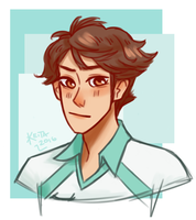 Oikawa Redraw (Separate) by Scoobydoobel