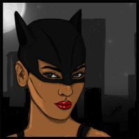 Catwomen by thr33dots