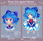 Draw this again chibi ver. by KyouKaraa