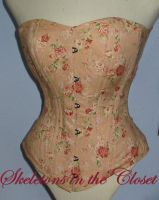 English rose corset by BlackvelvetSITC
