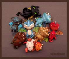 How to Train THIS Dragons? :) by buzhandmade