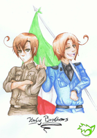 .: Italy Brothers :. by CaptainPinsel