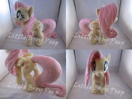 mlp Fluttershy plush by Little-Broy-Peep