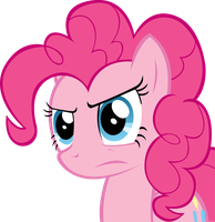 Vector: Pinkie Pie Unimpressed by goldenacorn93