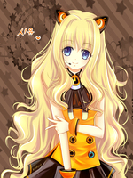 SeeU of Vocaloid 3 by skippingmints