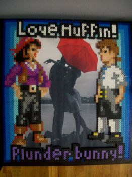 Plunder Bunny Picture Frame by yumeleona23