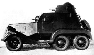 Light armored car LB-23 by MADMAX6391