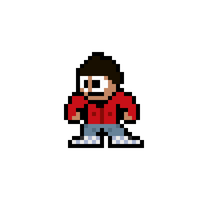 8-Bit Howard (BigBangTheory) by MelolzuGaming