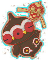 Baltoy and Claydol by oober-zombie