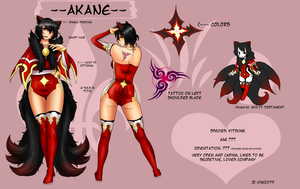 Akane Reference by Vin0079