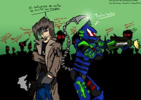 Back to Back .:contest entry:. by Dan-Fortesque