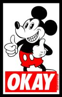 OKAY sticker by quartertofour