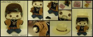 Justified: Raylan Givens Plush by StitchedAlchemy