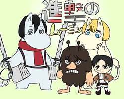 Attack on Moomin by MareckiRAWR