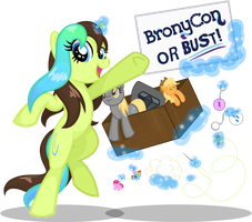 Equine Palette is Going to BronyCon 2016! by equinepalette