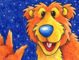 Bear in the Big Blue House by tee-kyrin