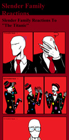 Slender Family reactions by Scarygermangirl