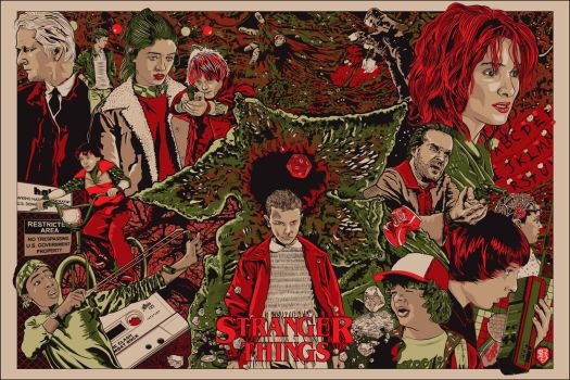 Stranger Things by wild7even