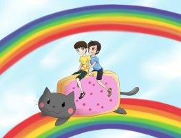 Smosh - Double Rainbow by Hopemaydie