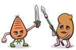 Veggie Knights by gkhnsolak