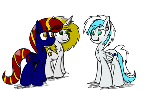 Commission: Tailor and Star meet Frost Star by Tailor-Stitch