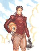 Rocketeer sketch by PaulRenaud