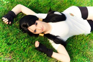 Videl (Dragonball Z) ~ strong and proud ~ by YukinaCosplay