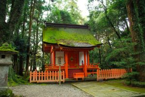 Shrines : Temple Building 09 by taeliac-stock