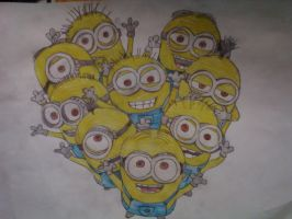 Minnions - Despicable Me by galis33