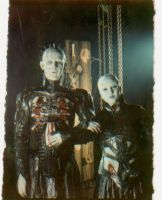 Pinhead and Female by Heartattackonwheels