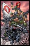 GI Joe pinup by BlondTheColorist