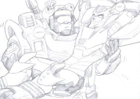 trailguy and roddy sketch by prisonsuit-rabbitman