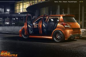 Suzuki Swift - Team Brazil 1 by RDJDesign