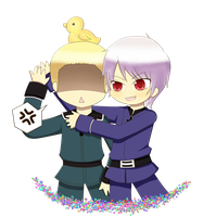 APH- Germany and Prussia by Kuzurae