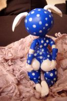Fenouil : Sweet night, Polka rabbit back by TendresChimeres