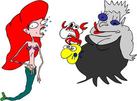 Poor unfortunate souls by EggHeadCheesyBird