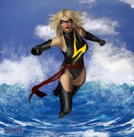 Ms. Marvel 14 by hotrod5